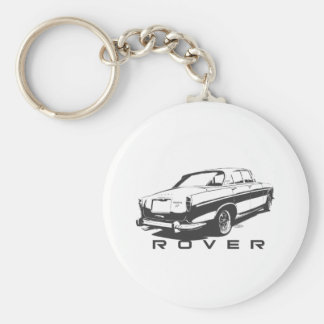 Rover P5 Coupe (black) Key Chains