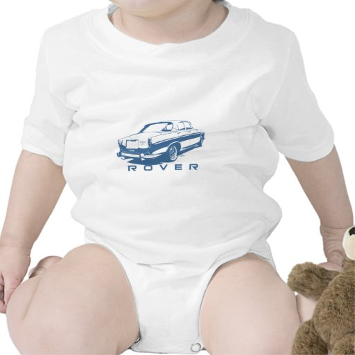 Rover P5 Coupe (blue) T-shirts