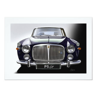 Rover P5 Coupe Card