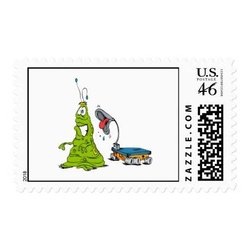 Rover razzing Martian Stamp