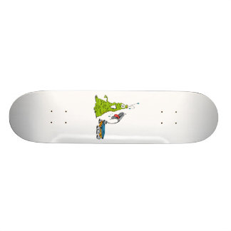Rover razzing Martian Skateboard Deck