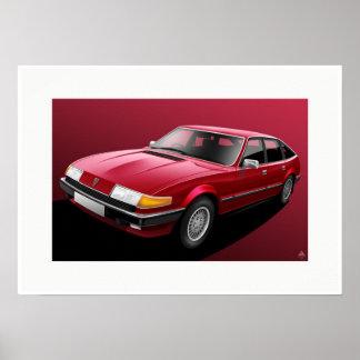 Rover SD1 Vanden Plas Poster