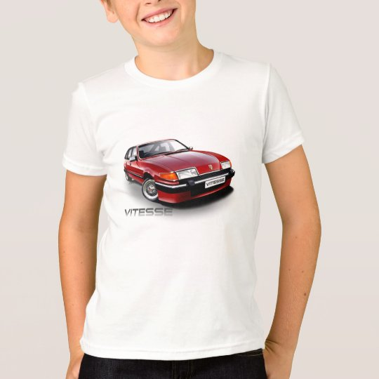 Rover SD1 Vitesse red T-Shirt
