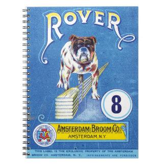 Rover Vintage Bulldog Spiral Notebook
