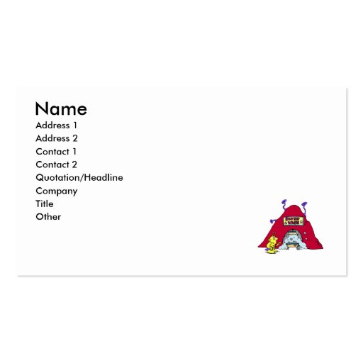 Rover Wash Double-Sided Standard Business Cards (Pack Of 100)