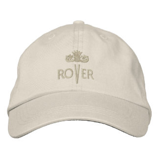 ROVER with Crown - 001 Embroidered Baseball Hat