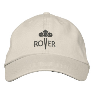 ROVER with Crown - 001b Embroidered Baseball Cap