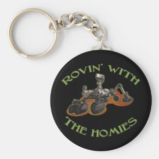 Rovin' with the Homies Key Chain