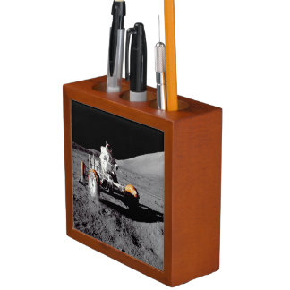 Roving On The Moon - See Both Sides Pencil/Pen Holder