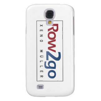 Row2go rowing with Xeno Müller Samsung Galaxy S4 Cover