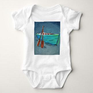 Row boat baby bodysuit