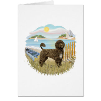 Row Boat - Brown Portie 2 Card
