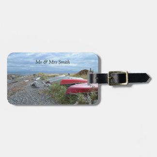 Row Boat Luggage Tag