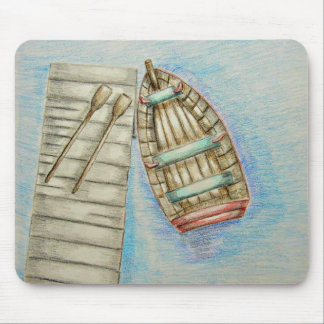 Row Boat Mouse Pad