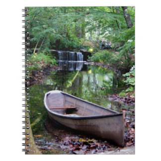 Row boat notebook