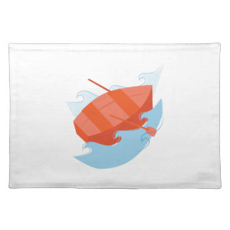 Row Boat Cloth Place Mat