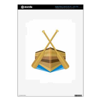 Row Boat iPad 3 Decal