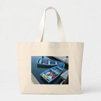Row Boats Jumbo Tote Bag