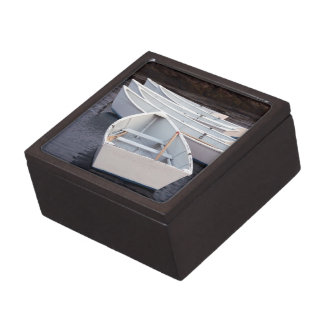 Row Boats Keepsake Box