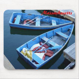 Row Boats Mouse Pad