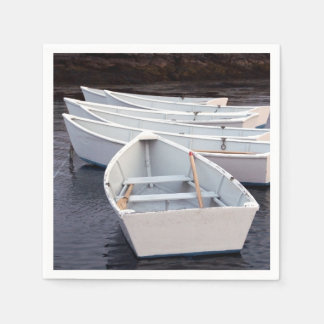 Row Boats Paper Napkin