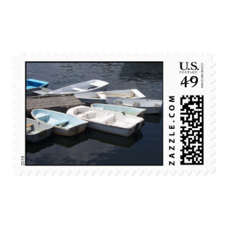 Row Boats Stamp