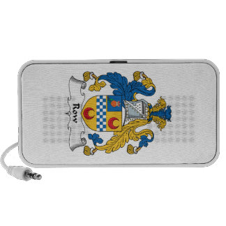 Row Family Crest iPhone Speaker