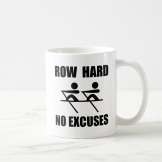 Row Hard Coffee Mug