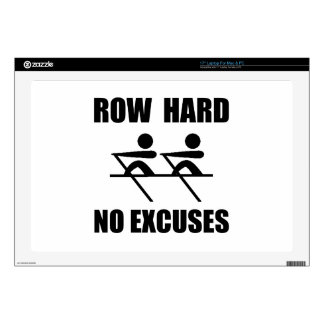 """Row Hard Decal For 17"""" Laptop"""