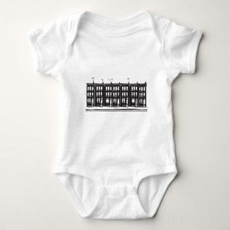 Row Homes Baby Bodysuit