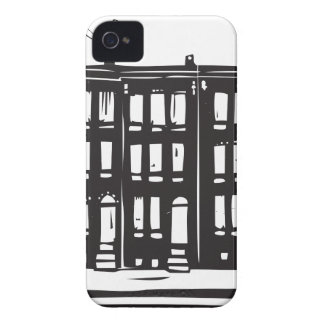 Row Homes iPhone 4 Cases