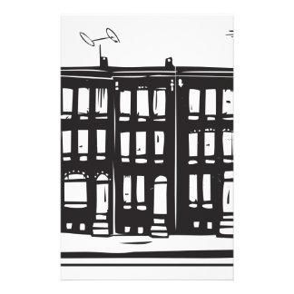 Row Homes Stationery