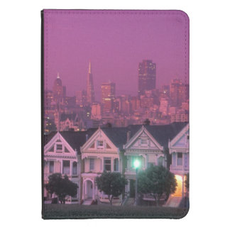Row houses at sunset in San Francisco, Kindle Touch Case