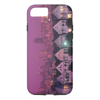 Row houses at sunset in San Francisco, iPhone 7 Case