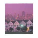 Row houses at sunset in San Francisco, Notepad