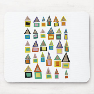Row Houses Mouse Pad