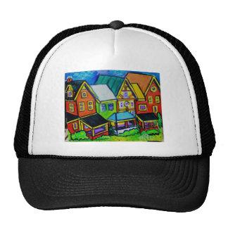 Row Houses Vermont Hats