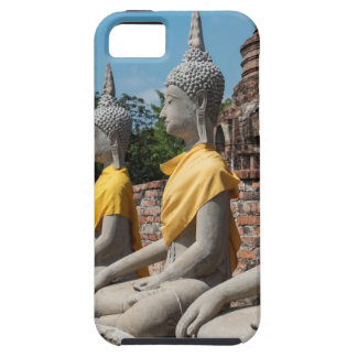 Row of Buddha statues, Ayutthaya, Thailand iPhone SE/5/5s Case