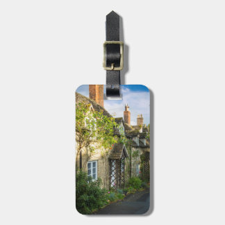 Row of cottages in Winchcombe, Gloucestershire 2 Bag Tags