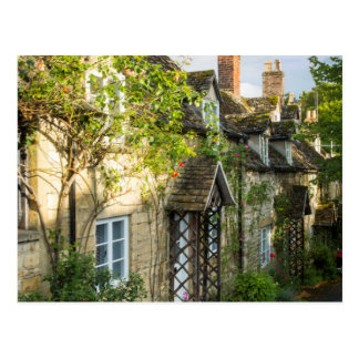Row of cottages in Winchcombe, Gloucestershire 2 Postcard