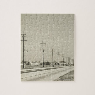 Row of Electricity Poles Puzzles