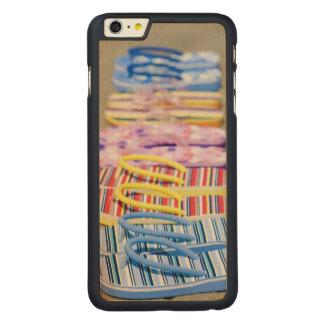 Row Of Flip-Flops Carved® Maple iPhone 6 Plus Slim Case