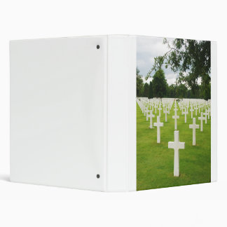 Row of Headstones Arlington National Cemetery Binder