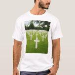Row of Headstones Arlington National Cemetery T-Shirt