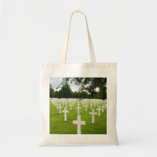 Row of Headstones Arlington National Cemetery Tote Bag