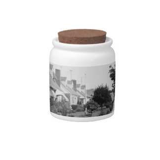 Row of Houses Candy Dish