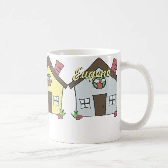Row of houses mug
