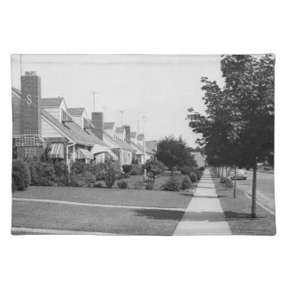 Row of Houses Placemats
