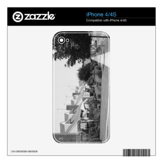 Row of Houses Decal For iPhone 4