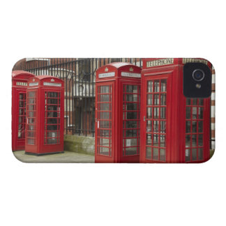 Row of phone boxes at the back of the Royal Case-Mate iPhone 4 Case